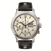 Pineider Automatic Chronograph Men's Watch with Date - White Dial
