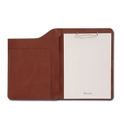 Pineider Power Elegance Leather A4 Notepad Holder with Flap