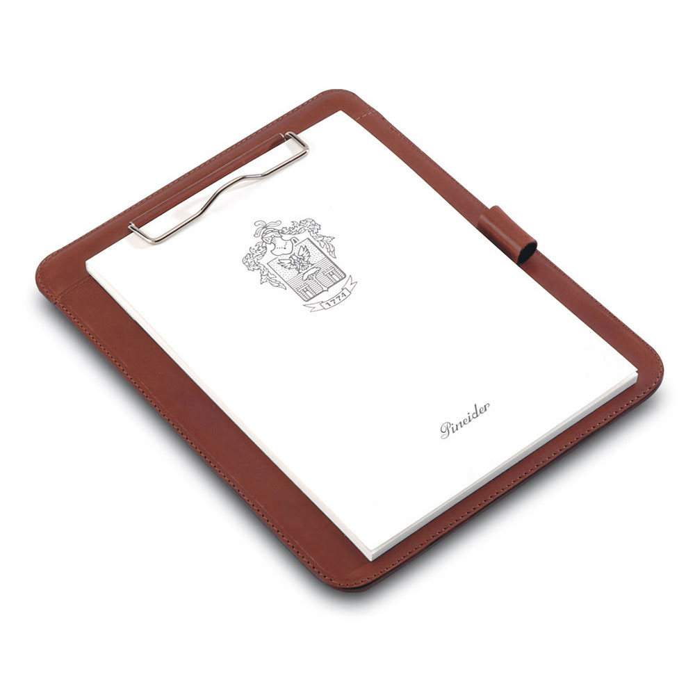 Pineider Power Elegance Leather A5 Notepad Holder