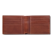Pineider Power Elegance Men's Leather Bifold Wallet