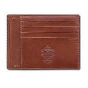 Pineider Power Elegance Leather Multi-Card Holder Wallet