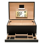 Pineider Power Elegance Leather Cigar Humidor