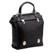 Pineider Bi-bag Leather Handbag