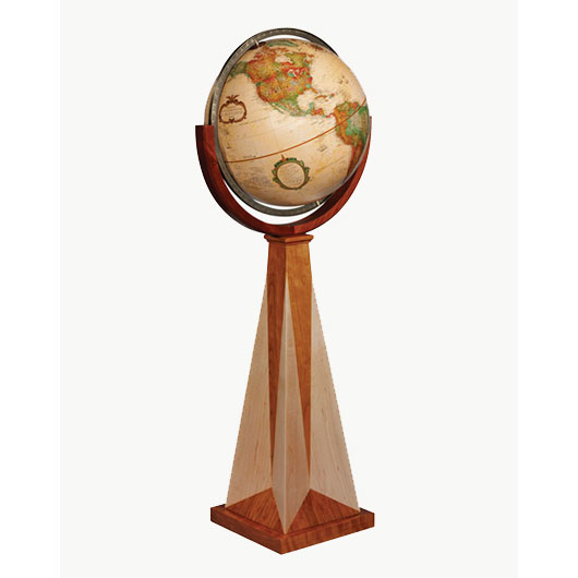 Frank Lloyd Wright Collection Obelisk Globe