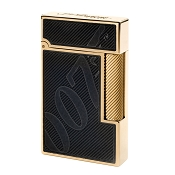 ST Dupont James Bond 007 Lighter - Black & Gold - Limited Edition