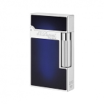 ST Dupont Ligne 2 Atelier Lighter - Navy Blue Lacquer - Palladium