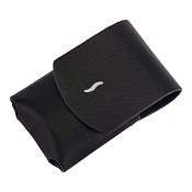 ST Dupont MiniJet Lighter Case - Black Leather