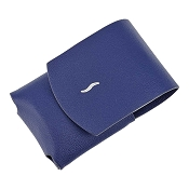 ST Dupont MiniJet Lighter Case - Blue Leather