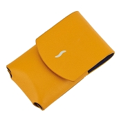 ST Dupont MiniJet Lighter Case - Yellow Leather