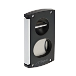ST Dupont Cigar Cutter - Black - Double Blade