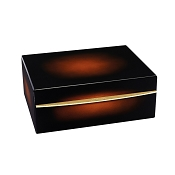 ST Dupont Cigar Humidor - Sunburst Brown Lacquer