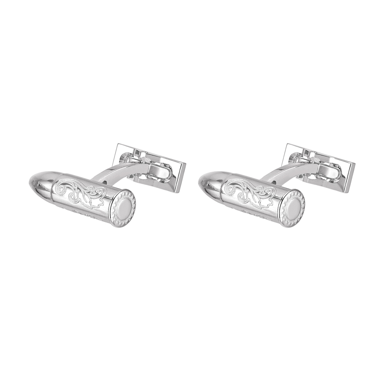 ST Dupont Conquest of the Wild West Premium Engraved Bullet Cufflinks - Limited Edition