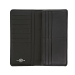 ST Dupont Defi Black Millenium Leather Long Wallet