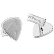 ST Dupont Fender Cufflinks - Palladium Finish - Limited Edition