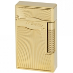 Le Grand ST Dupont Dancing Flame Lighter - Yellow Gold