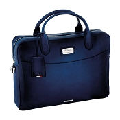 ST Dupont Atelier Midnight Blue Leather Laptop Bag & Document Holder