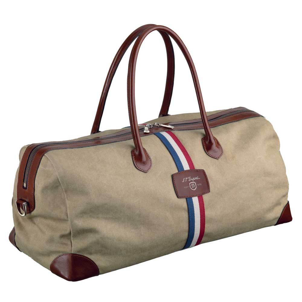 Iconic Beige Cosy Canvas Travel Duffle Bag