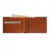 ST Dupont Line D Brown Leather Men's Bifold Wallet - 6 Credit Card