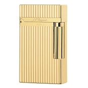 ST Dupont Ligne 2 Gold Montparnasse Vertical Lines Lighter