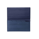 ST Dupont Line D Slim Blue Leather Travel Organizer