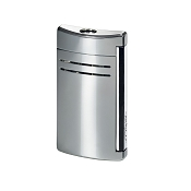 ST Dupont MaxiJet Lighter - Chrome Grey