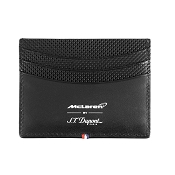 ST Dupont McLaren Credit Card Holder Wallet - Perforated Leather - Limited Edition