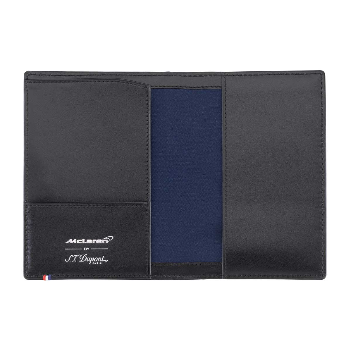 ST Dupont McLaren Passport Cover - Perforated Leather - Limited Edition
