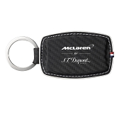 ST Dupont McLaren Carbon Leather Finish Key Ring - Limited Edition