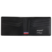ST Dupont McLaren 6 Credit Card Carbon Leather Wallet - Limited Edition