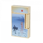 ST Dupont Ligne 2 Monet Lighter - Impression Sunrise - Limited Edition