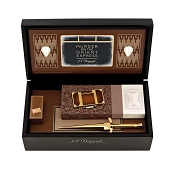 ST Dupont Murder On The Orient Express Ligne 2 Lighter Set - Limited Edition