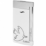 ST Dupont Picasso Dove of  Peace Slim 7 Lighter - Limited Edition