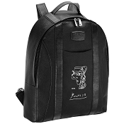 ST Dupont Picasso Leather Backpack - Profil de Femme - Soft Diamond Grained - Limited Edition