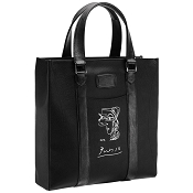 ST Dupont Picasso Leather Tote Bag - Profil de Femme - Soft Diamond Grained - Limited Edition