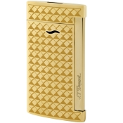 ST Dupont Slim 7 Fire Head Lighter - Gold
