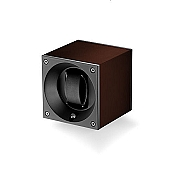 Swiss Kubik Aluminum Single Watch Winder - Brown