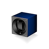 Swiss Kubik Aluminum Single Watch Winder - Navy Blue