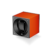 Swiss Kubik Aluminum Single Watch Winder - Orange