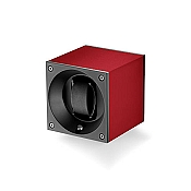 Swiss Kubik Aluminum Single Watch Winder - Red