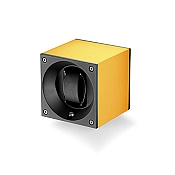 Swiss Kubik Aluminum Single Watch Winder - Yellow