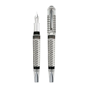 Tibaldi Bentley Crewe Limited Edition 18ct White Gold Fountain Pen