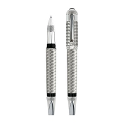 Tibaldi Bentley Crewe Limited Edition 18ct White Gold Rollerball Pen
