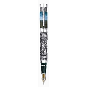 Tibaldi Hercules Limited Edition Sterling Silver Fountain Pen