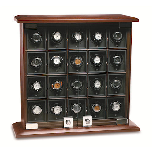 Underwood Briarwood Watch Winder - The Twenty-Module Unit