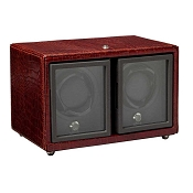 Underwood Basic Double-Module Watch Winder - with Traditional Frame