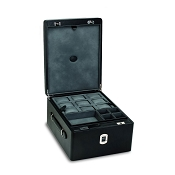 Underwood Biometric Watch and Cufflinks Case - Three Trays