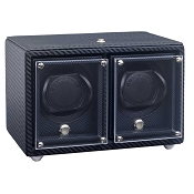 Underwood Carbon Fiber Watch Winder - Double-Module Unit
