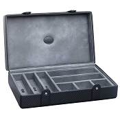 Underwood Carbon Fiber Multi-Storage Jewelry Case