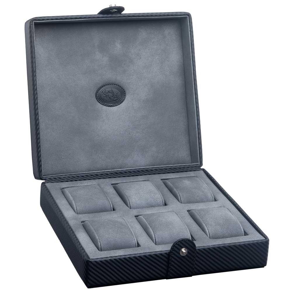 Underwood Carbon Fiber Six Watch Case