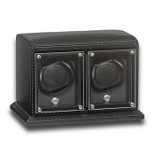 Underwood EvO Carbon Fiber Watch Winder - Double Watch Modules